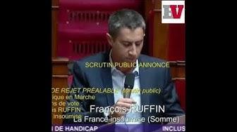 Vibrant plaidoyer de François Ruffin sur le handicap
