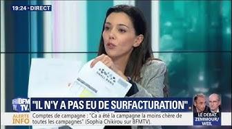 Sophia Chikirou ridiculise les accusations qui visent La France Insoumise en présentant deux factures