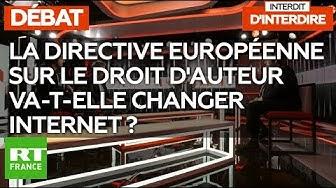 """""""Interdit d'interdire"""" : La directive européenne sur le droit d'auteur va-t-elle changer Internet ?"""