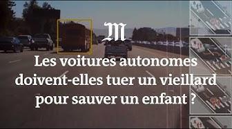 Vieillard ou enfant ? Homme d'affaires ou SDF ? Qui les voitures autonomes doivent-elles tuer ?