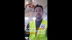 Gilets jaunes : le cri de colère d'un agriculteur contre Emmanuel Macron
