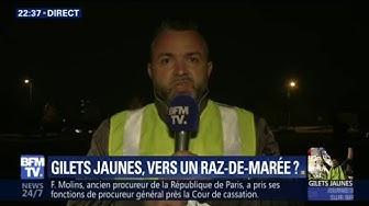 """Gilets Jaunes : """"Nous on tire la langue et les plus riches, ils se lèchent les babines"""""""
