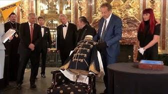 Des objets appartenant au tsar russe Alexandre II remis à la Russie