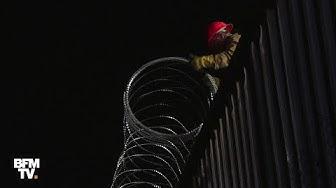 États-Unis : l'armée installe des barbelés à sa frontière avec le Mexique
