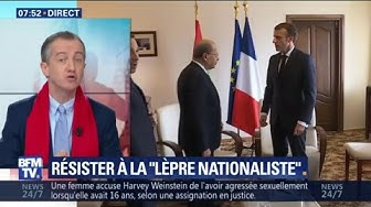 """Christophe Barbier : Emmanuel Macron veut """"dramatiser"""" en alertant contre un retour aux années 30"""