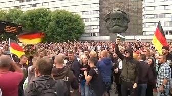 Merkel pas la bienvenue à Chemnitz