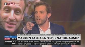 """""""Lèpre nationaliste"""" : « Macron ne parle pas de Lèpre Islamiste quand il y a un attentat ! » (Damien Lempereur)"""