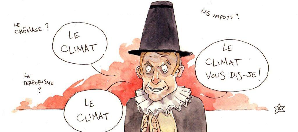 Une France de toutes les couleurs ? Non ! Macron la repeint en gris-vert !