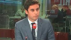 """Service national universel : """"Les jeunes auront envie de le faire"""" (Gabriel Attal)"""