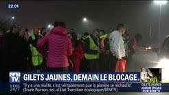 Gilets Jaunes : ils sont déjà mobilisés