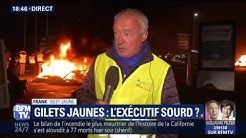 """Gilets jaunes : """"La seule chose qu'on réclame ici, c'est le départ de Monsieur Macron"""""""