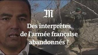 L'appel à l'aide d'un ex-interprète afghan de l'armée française