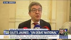 """""""Il a parlé dans le vide."""" Pour Mélenchon, Macron ne mesure pas """"la gravité de la situation"""""""