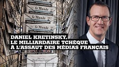 Daniel Kretinsky, le milliardaire tchèque à l'assaut de la presse française