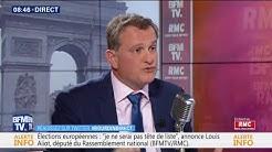 """Pour Louis Aliot, """"Carlos Ghosn est un patron qui a méchamment contribué au chômage en France"""""""