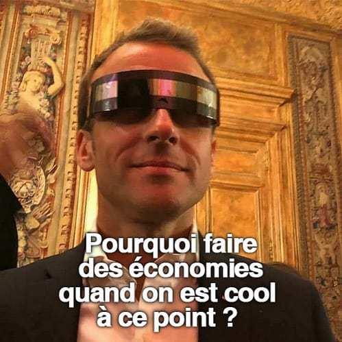 État Macron : panique, désolation mais taxes à gogo