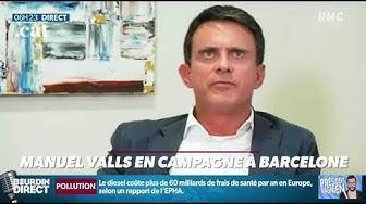 En campagne pour les municipales, Manuel Valls ne connaît pas le prix d'un ticket de métro ou de bus à Barcelone…