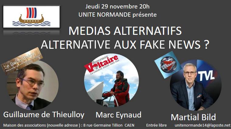 [CONFÉRENCE] Médias alternatifs : alternatives aux fake news ?