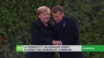Sans demander l'avis de leurs peuples, Macron et Merkel vont créer une assemblée commune