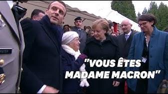 """""""Je suis la chancelière allemande"""" : cette centenaire a confondu Merkel avec """"Mme Macron"""""""
