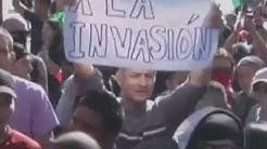 """Tout comme Trump, des Mexicains protestent contre """"la caravane de migrants"""""""