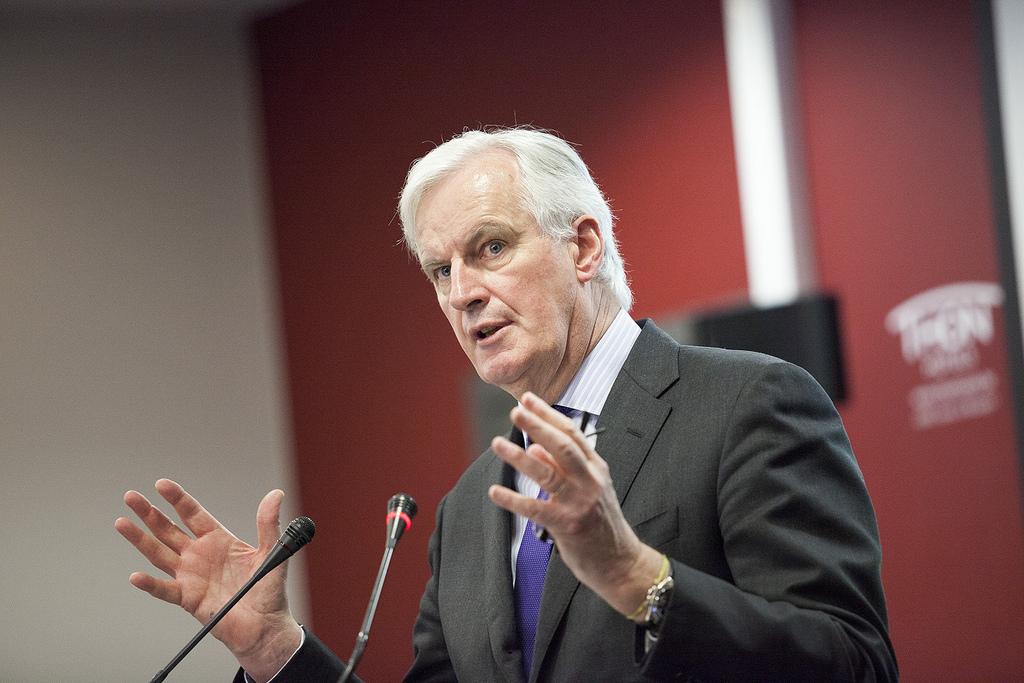 """Les informations sur un accord financier sont """"trompeuses"""" selon Michel Barnier"""