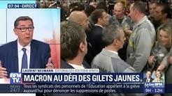 Emmanuel Macron face au défi des gilets jaunes