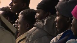 Seine-Saint-Denis : des clandestins venus de Colombie campent mairie de Saint-Ouen