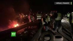 « Gilets jaunes » : des péages incendiés en marge de la protestation