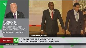 François Asselineau compare le pacte de Marrakech à une « traite négrière du XXIe siècle »