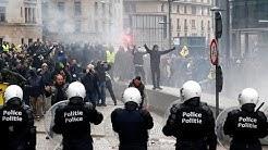 Invasion migratoire : des milliers de manifestants à Bruxelles contre le pacte de Marrakech (VIDÉO)