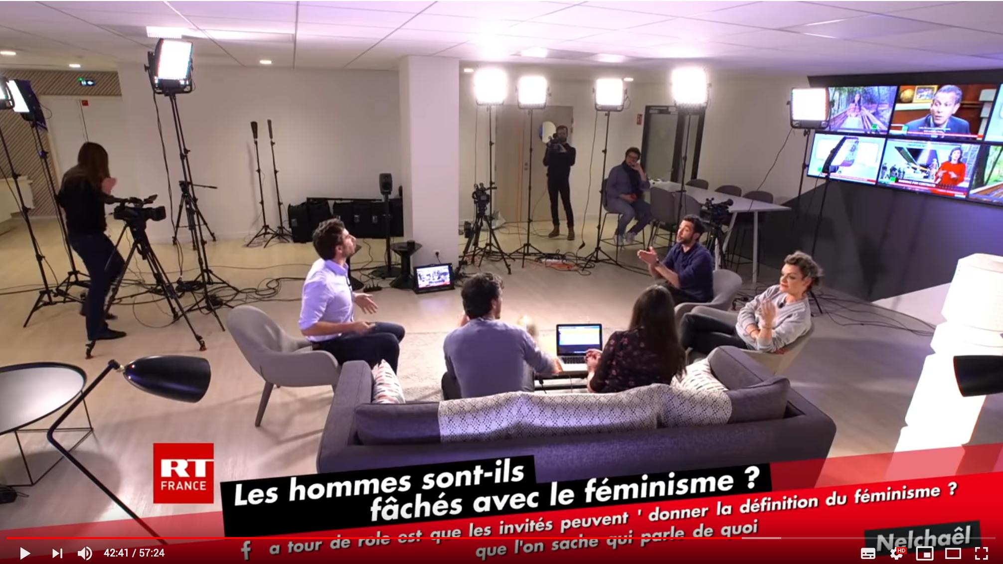 """""""Les hommes sont-ils fâchés avec le féminisme ?"""" Julien Rochedy met en PLS Fiona Schmidt (VIDÉO)"""