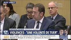 """""""Sur les 412 personnes interpellées, seulement 16 sont connues"""" (Christophe Castaner)"""