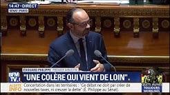 """Édouard Philippe reconnaît que les mesures annoncées """"ne répondent pas à toutes des demandes des Français"""""""