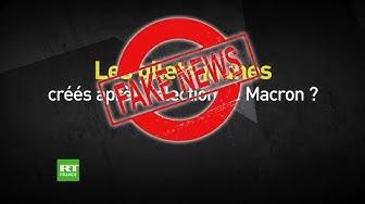 Fake News autour du mouvement des gilets jaunes… en provenance du camp Macron !