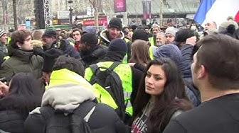 Acte VII : CNEWS se fait virer de la manifestation des Gilets Jaunes sur les Champs Élysées (VIDÉO)