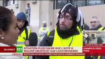 Un Gilet Jaune : « Le peuple veut la démission de Macron et la dissolution de l'Assemblée » (VIDÉO)
