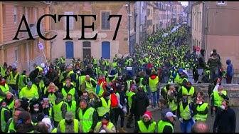 À Dijon, des Gilets jaunes en nombre pour l'acte VII (VIDÉO)