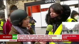 Une Gilet Jaune : « J'attends de Macron des excuses publiques » (VIDÉO)