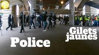 Gilets jaunes : tirs de flash-ball rapprochés à Paris, boulevard de Grenelle (VIDÉO)
