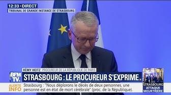 """Strasbourg : d'après des témoins l'assaillant aurait crié """"Allah Akbar"""""""