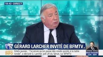 """Gérard Larcher : """"Nous devons nous poser la question de la diminution de la dépense publique"""""""