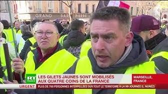 Un Gilet Jaune marseillais : « Macron veut faire quoi encore comme connerie ? » (VIDÉO)
