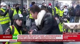 Un Gilet Jaune traite Macron de corrompu qui a vendu la France (VIDÉO)
