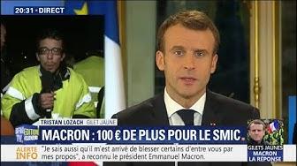 """Un gilet jaune à Emmanuel Macron : """"Si vous avez encore du respect pour votre peuple, démissionnez"""" (VIDÉO)"""