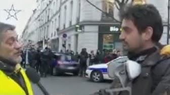 Un Gilet Jaune : « Je n'aime pas Macron qui est quelqu'un de méprisant » (VIDÉO)