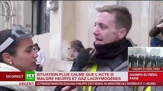 Un Gilet Jaune : « Nous demandons une annulation des futures taxes. Macron nous a pris de haut ce petit fils de bourge ! » (VIDÉO)