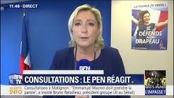 """""""Il est urgent de retrouver la maîtrise de nos frontières"""" (Marine Le Pen)"""
