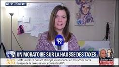 """Le moratoire est """"une cacahuète"""" dénonce la porte-parole des gilets jaunes du Val-d'Oise"""