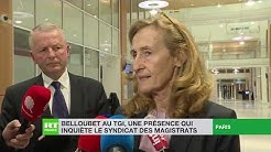 Nicole Belloubet au TGI, une présence qui inquiète le syndicat des magistrats (VIDÉO)